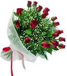 Erzurum çiçek mağazası , çiçekçi adresleri  11 adet kirmizi gül buketi sade ve hos sevenler