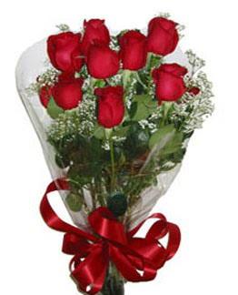 Çiçek sade gül buketi 7 güllü buket  Erzurum online çiçekçi , çiçek siparişi