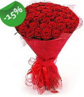 51 adet kırmızı gül buketi özel hissedenlere  Erzurum çiçek servisi , çiçekçi adresleri