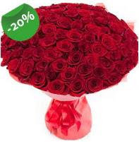 Özel mi Özel buket 101 adet kırmızı gül  Erzurum çiçek gönderme