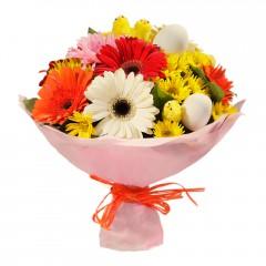 Karışık mevsim buketi Mevsimsel çiçek  Erzurum güvenli kaliteli hızlı çiçek
