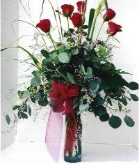 Erzurum çiçek servisi , çiçekçi adresleri  7 adet gül özel bir tanzim