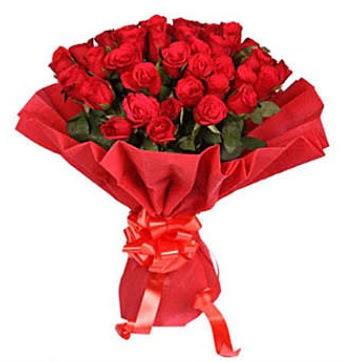 41 adet gülden görsel buket  Erzurum uluslararası çiçek gönderme