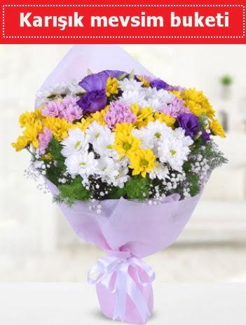 Karışık Kır Çiçeği Buketi  Erzurum çiçekçi mağazası