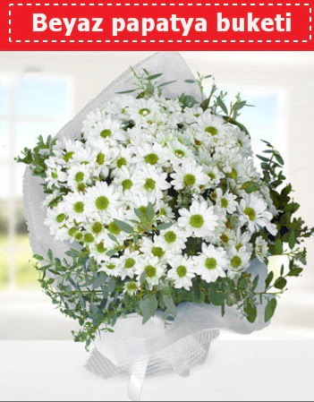 Beyaz Papatya Buketi  Erzurum çiçek yolla