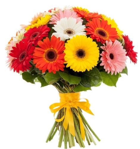 Gerbera demeti buketi  Erzurum uluslararası çiçek gönderme
