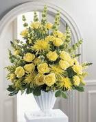 Erzurum çiçek servisi , çiçekçi adresleri  sari güllerden sebboy tanzim çiçek siparisi