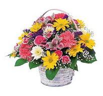 Erzurum 14 şubat sevgililer günü çiçek  mevsim çiçekleri sepeti özel