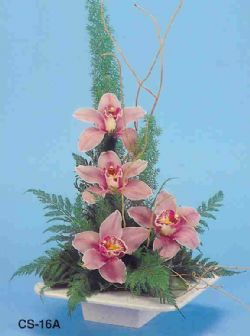 Erzurum cicekciler , cicek siparisi  vazoda 4 adet orkide