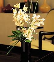 Erzurum kaliteli taze ve ucuz çiçekler  cam yada mika vazo içerisinde dal orkide