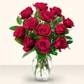 Erzurum online çiçek gönderme sipariş  10 adet gül cam yada mika vazo da