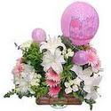 balon ve çiçeklerle tanzim  Erzurum çiçek mağazası , çiçekçi adresleri