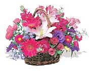 küçük karisik özel sepet   Erzurum çiçek satışı