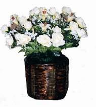yapay karisik çiçek sepeti   Erzurum çiçek yolla , çiçek gönder , çiçekçi
