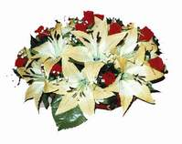 yapay karisik çiçek sepeti   Erzurum güvenli kaliteli hızlı çiçek