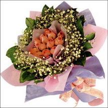 11  adet  gül ve   elyaflar   Erzurum çiçek online çiçek siparişi
