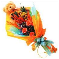 ayicik gül ve kir çiçekleri   Erzurum çiçek online çiçek siparişi