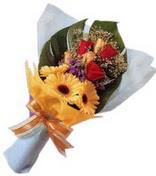 güller ve gerbera çiçekleri   Erzurum çiçek siparişi vermek
