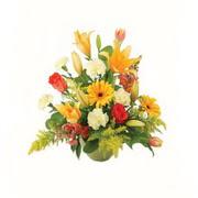 karisik renkli çiçekler tanzim   Erzurum çiçek siparişi vermek