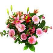 lilyum ve gerbera çiçekleri - çiçek seçimi -  Erzurum cicek , cicekci