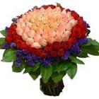 71 adet renkli gül buketi   Erzurum anneler günü çiçek yolla
