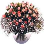 büyük cam fanusta güller   Erzurum online çiçek gönderme sipariş