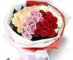 SEVENLERE ÖZEL 51 ADET GÜL  Erzurum çiçek mağazası , çiçekçi adresleri