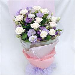 Erzurum çiçek mağazası , çiçekçi adresleri  BEYAZ GÜLLER VE KIR ÇIÇEKLERIS BUKETI