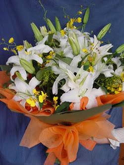 Erzurum çiçek mağazası , çiçekçi adresleri  5 ADET KAZABLANKA BUKETI KALITEDEN SASMAYANLARA