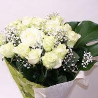 Erzurum hediye sevgilime hediye çiçek  11 adet sade beyaz gül buketi