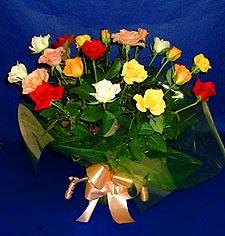 Erzurum hediye sevgilime hediye çiçek  13 adet karisik renkli güller