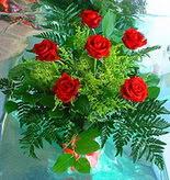 6 adet kirmizi gül buketi   Erzurum online çiçekçi , çiçek siparişi