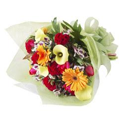 karisik mevsim buketi   Erzurum internetten çiçek satışı