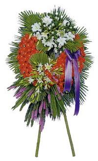 Erzurum çiçek yolla , çiçek gönder , çiçekçi   cenaze çelengi
