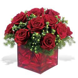 Erzurum online çiçek gönderme sipariş  9 adet kirmizi gül cam yada mika vazoda