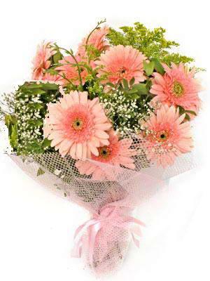 Erzurum uluslararası çiçek gönderme  11 adet gerbera çiçegi buketi