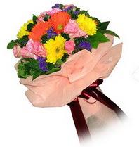 Erzurum çiçek online çiçek siparişi  Karisik mevsim çiçeklerinden demet