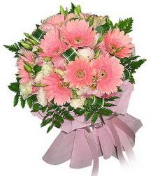 Erzurum İnternetten çiçek siparişi  Karisik mevsim çiçeklerinden demet