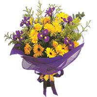 Erzurum çiçek siparişi vermek  Karisik mevsim demeti karisik çiçekler