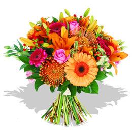 Erzurum cicekciler , cicek siparisi  Karisik kir çiçeklerinden görsel demet