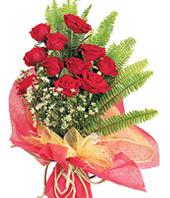 11 adet kaliteli görsel kirmizi gül  Erzurum uluslararası çiçek gönderme