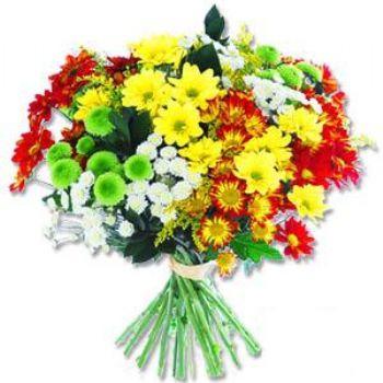 Kir çiçeklerinden buket modeli  Erzurum online çiçekçi , çiçek siparişi