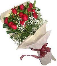 11 adet kirmizi güllerden özel buket  Erzurum güvenli kaliteli hızlı çiçek