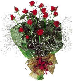 11 adet kirmizi gül buketi özel hediyelik  Erzurum çiçek online çiçek siparişi