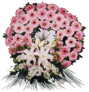 Cenaze çelengi cenaze çiçekleri  Erzurum yurtiçi ve yurtdışı çiçek siparişi