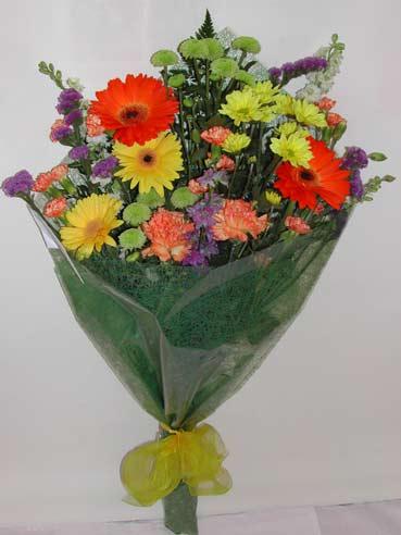 karisik kir çiçek buketi çiçek gönderimi  Erzurum İnternetten çiçek siparişi