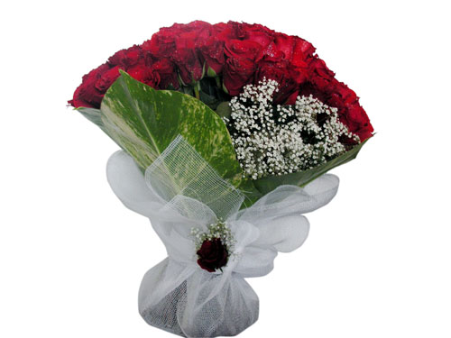 25 adet kirmizi gül görsel çiçek modeli  Erzurum çiçek , çiçekçi , çiçekçilik