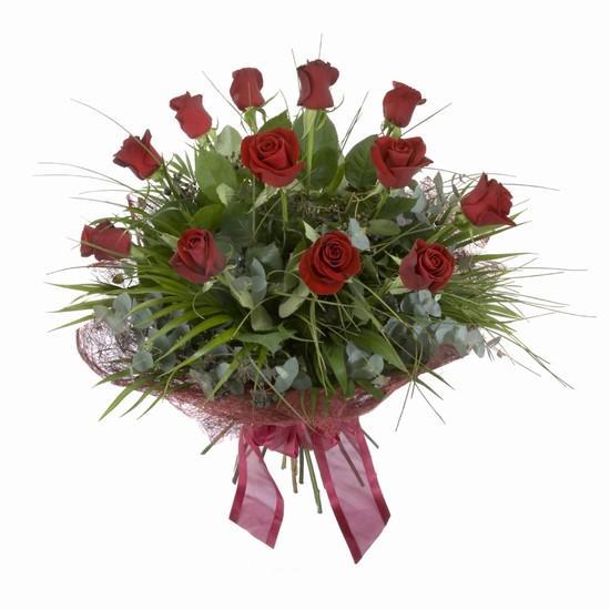 Etkileyici buket 11 adet kirmizi gül buketi  Erzurum çiçek mağazası , çiçekçi adresleri