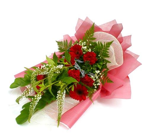 Karisik çiçek buketi mevsim buket  Erzurum çiçek servisi , çiçekçi adresleri