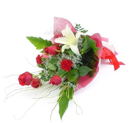 Mevsim çiçeklerinden karisik buket  Erzurum çiçek yolla , çiçek gönder , çiçekçi